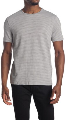 John Varvatos Summer Stripe Crew Neck T-Shirt