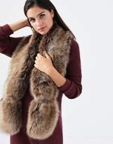 Forever New Long Faux Fur Scarf