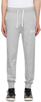 HUGO BOSS Grey French Terry Light Lounge Pants