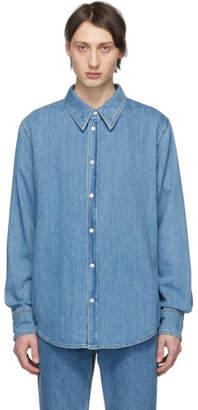 Calvin Klein Blue Denim Jaws Shirt