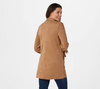 KUT from the Kloth Faye Faux Suede Jacket