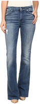7 For All Mankind A Pocket in Red Cast Heritage Blue