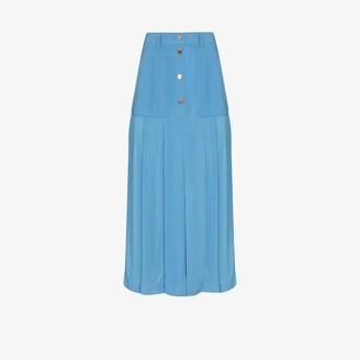 REJINA PYO Miller pleated midi skirt