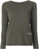 Fabiana Filippi zipped pocket sweatshirt