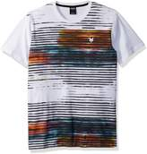 Zoo York Men's Intermix Short Sleeve Crew