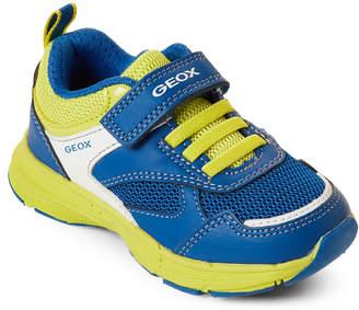 Geox Toddler Boys) Royal & Lime Hoshiko Running Sneakers