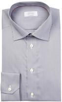 Eton Long Sleeve Contemporary Fit Print Dress Shirt