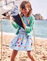 Boden Colourful Applique Skirt