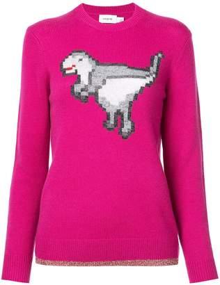 Coach dinosaur knitted jumper
