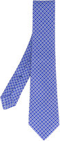 Kiton geometric diamond tie - men - Cotton - One Size