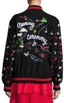 Opening Ceremony Appalachian Trail Embroidered Varsity Jacket