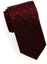 HUGO Mixed Pattern Silk Tie