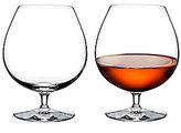 Waterford Elegance Series Crystal Brandy Glass Pair