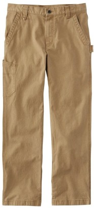 L.L. Bean Men's Katahdin Iron Works Stretch Utility Pants, Natural Fit