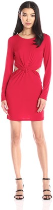 Glamorous Women's Cut Out Mini Dress