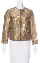 Anna Sui Embellished Brocade Jacket