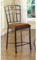 Acme Tavio Saddle Brown Counter Height Chair (Set of 2)