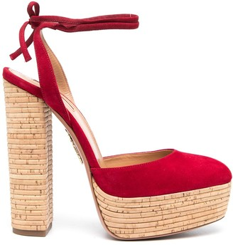 Aquazzura Penelope Plateau 140mm sandals