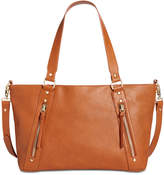 INC International Concepts Emaa Zip Large Satchel, Only at Macy's