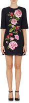 Dolce & Gabbana Women's Rose-Print Sheath Dress