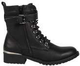 R & E RE: Lace Up Military Boot