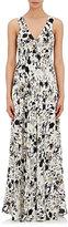 A.L.C. Women's Harlan Maxi Dress-WHITE, BLACK