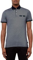 Ted Baker Striped Regular Fit Polo