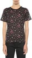 Saint Laurent T-shirt With Printed Stars