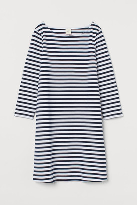 H&M Cotton jersey dress