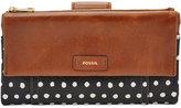 Fossil Ellis Leather Clutch Wallet