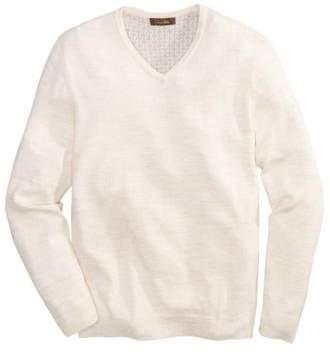 Tasso Elba Men's Merino V-Neck Sweater, Created for Macy's