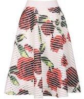 Dorothy Perkins Womens *Izabel London Multi Coloured Floral Skirt- White