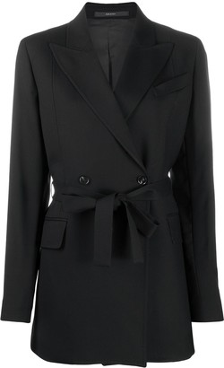 Paul Smith Double Breasted Belted Jacket