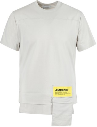 Ambush New Waist Pocket T-shirt Beige