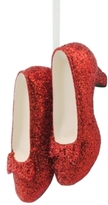 Hallmark Resin Figural Ruby Slippers Ornament