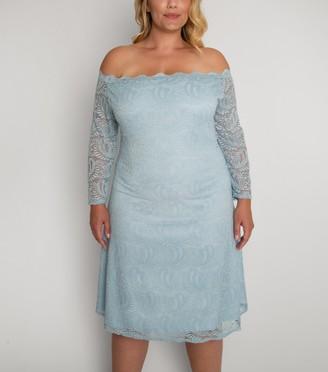 New Look Aarya Curve Lace Bardot Dress