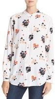 Equipment Women's Henri Floral Print Silk Shirt