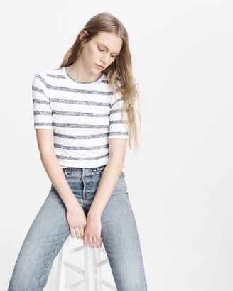 Rag & Bone The knit striped slim tee