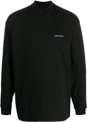 Carhartt WIP logo embroidered crewneck sweatshirt