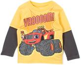 Children's Apparel Network Blaze & the Monster Machines Yellow Long-Sleeve Tee - Toddler