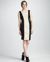 Alice + Olivia Amena Fitted Colorblock Dress
