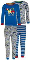 Mothercare BOYS TRACTOR SKINNY 2 PACK Pyjama set blue