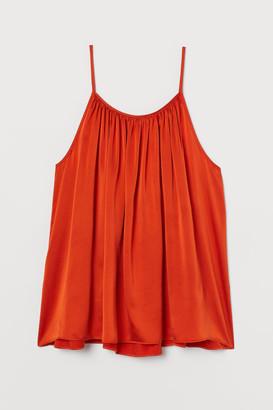 H&M Silk Camisole Top - Orange