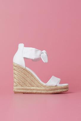 H&M Wedge-heeled Sandals - White