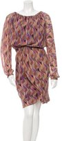 Nina Ricci Silk Printed Dress