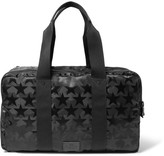 Valentino - Leather-trimmed Star And Camouflage-patterned Canvas Holdall