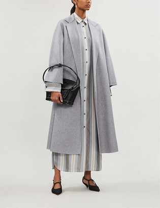 Max Mara Labbro relaxed-fit cashmere coat
