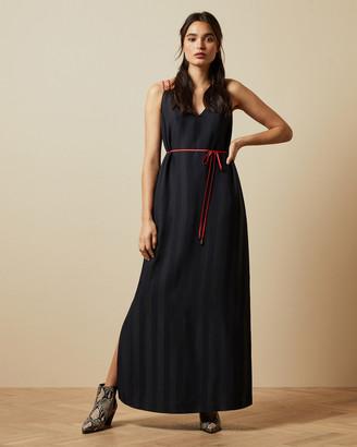 Ted Baker FARLI Striped maxi dress