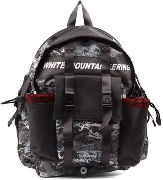 Eastpak Mountaineering Grey Camouflage Nylon Backpack