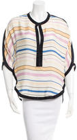 Etoile Isabel Marant Silk Striped Blouse